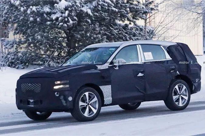 现代的高端SUV,要跟宝马X5竞争!