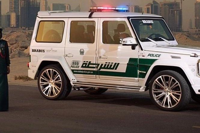 【谈车帮】迪拜真豪,看看迪拜的警车都是什么车