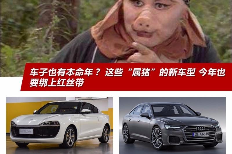 """车子也有本命年? 这些""""属猪""""的新车型 今年也要绑上红丝带"""