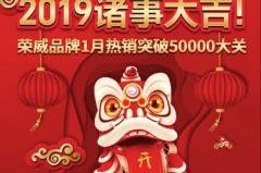 上汽荣威2019年喜迎开门红,荣威i5、RX5狂销2万辆!