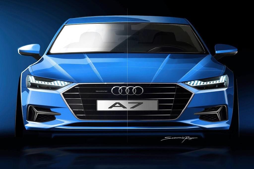 L3级自动驾驶,四轮转向,空气悬架,3.0T V6,点睛之笔仍是车灯