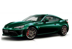 丰田86英国绿特别版官图发布 5月日本本土上市