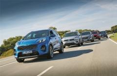 价格相差8000欧元 欧洲小编横向对比5款德 日 韩热销紧凑级SUV