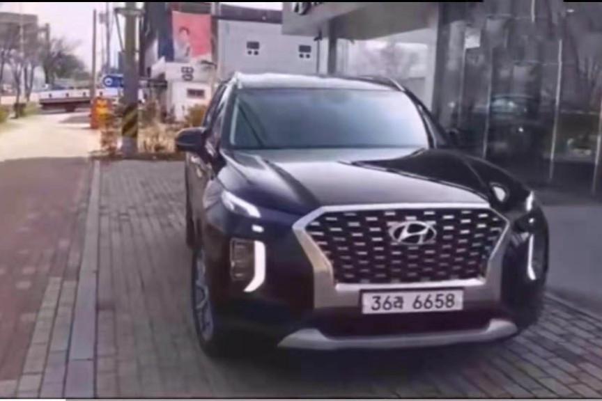 2019款现代Palisade到店实拍 撞脸宝骏510和传祺GS8