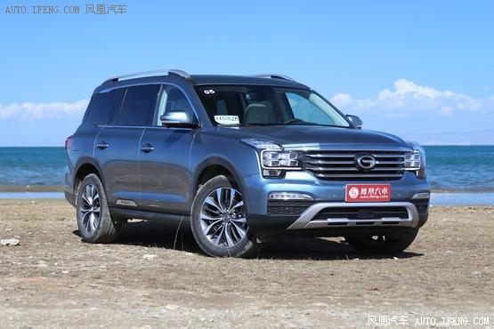 广汽传祺GS8现金优惠1.5万元 店内现车