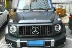 加价百万买奔驰G63亚光黑,网友:不如买添越,看车主怎么怼喷子