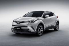 丰田C-HR新增欧泊银车色 炫酷SUV更个性