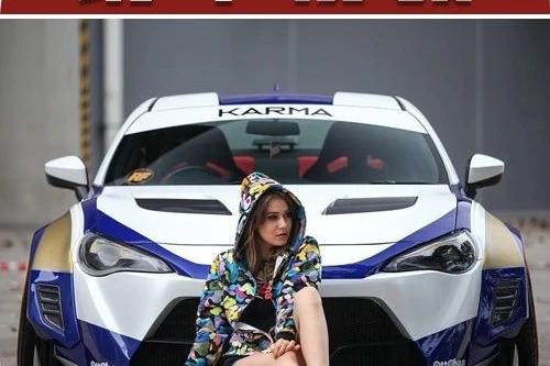 丰田86装上竞技风的宽体套件,无论停在街头或是开在路上都是一种享受!