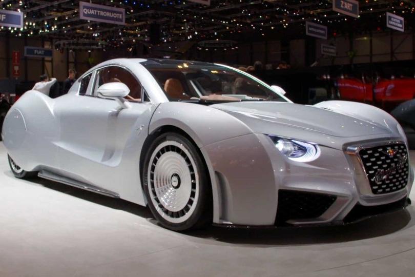 17000马力加持的日内瓦车展:又是哪个土豪家的车库?