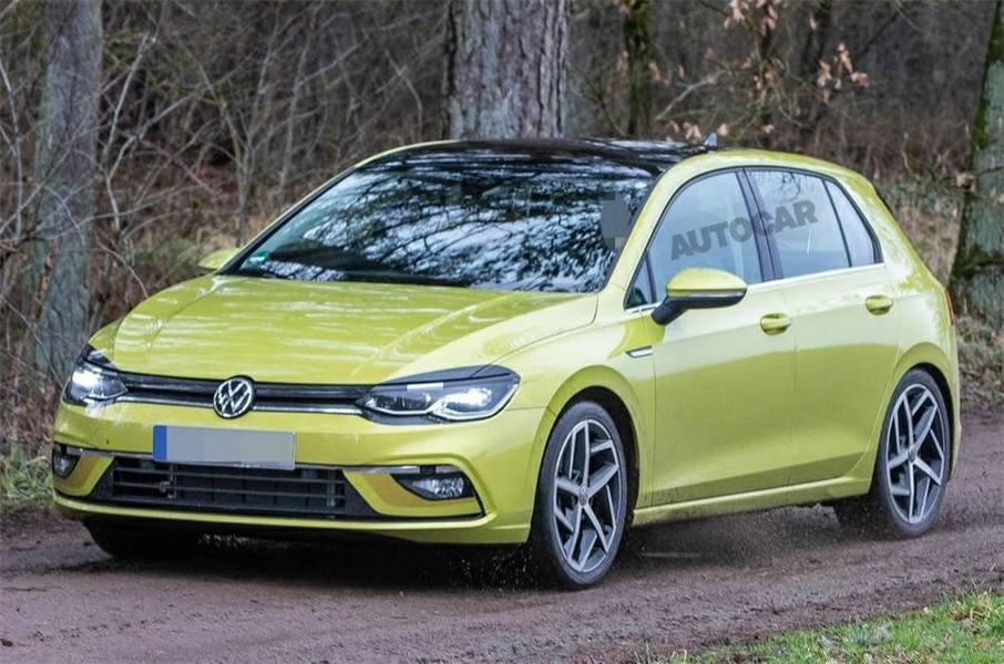 欧版第八代高尔夫实车曝光 有望年底国产 尺寸更大更动感年轻