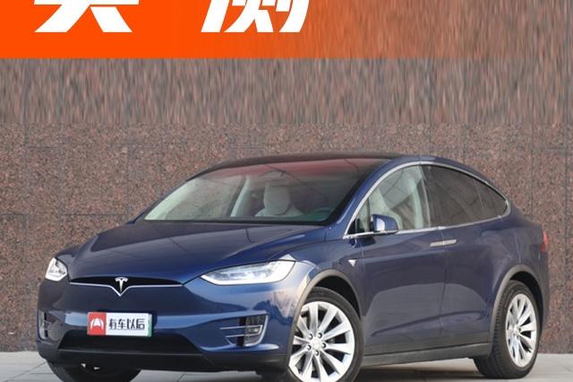 特斯拉首款电动中大型SUV,鹰翼门设计超酷,空间实测结果曝光