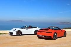 开篷请擦防晒霜!试保时捷911 Carrera S Cabriolet