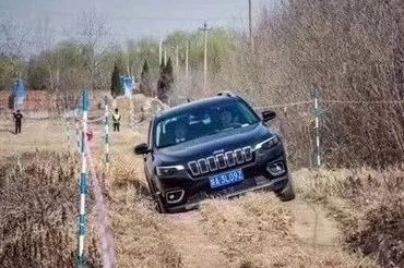 全新Jeep自由光全路况挑战西安站落幕