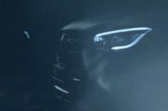 梅赛德斯-奔驰GLC Coupe改款预告图发布 或于四月亮相