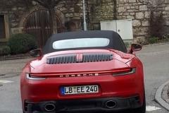 新款保时捷911 GTS敞篷版谍照曝光 运动感进一步增强