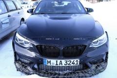 曝BMW M2 CS近距离谍照 预计下半年亮相