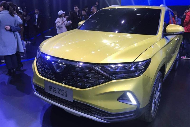 捷达品牌三款新车发布现场实拍 售价接近或低于8万元