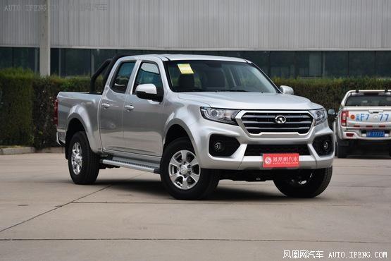 长城风骏7优惠0.3万 国产超实用皮卡车