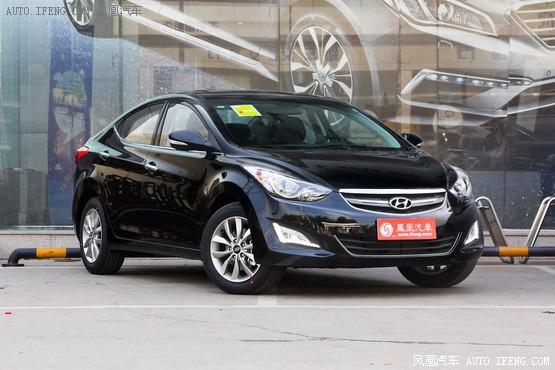 东莞北京现代朗动全系降价3万 现车销售