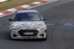 全新奥迪RS6 Avant测试谍照曝光 预计九月亮相法兰克福