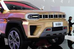 北汽轿跑SUV定名BJ100,原创设计不再模仿奔驰!