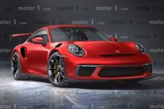 全新保时捷911 GT2 RS渲染图曝光  或2022年亮相