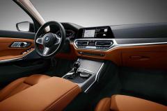 """新宝马3系长轴版内饰官图 首搭""""BMW智能个人助理"""""""