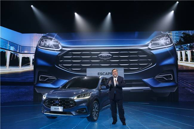 灵动美学 唤醒感官,全新都会潮流SUV福特Escape中国首发