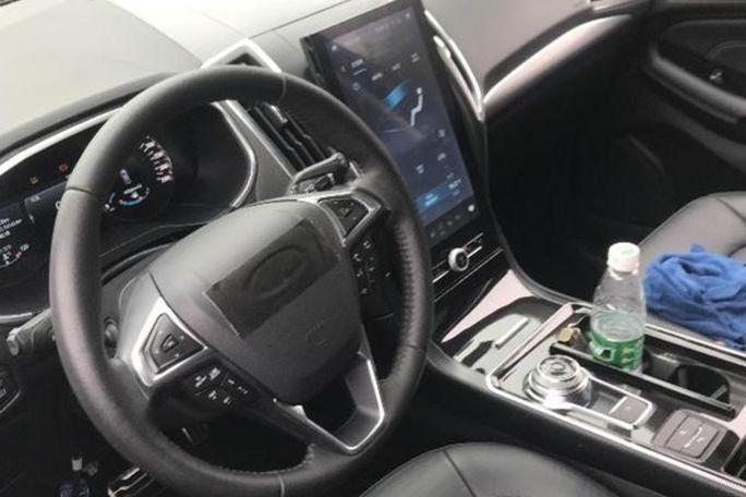 超大屏幕+旋钮换挡,新款长安福特锐界这内饰你还爱吗?