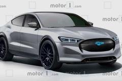 福特全新电动SUV基于Mustang打造 续航或达600公里