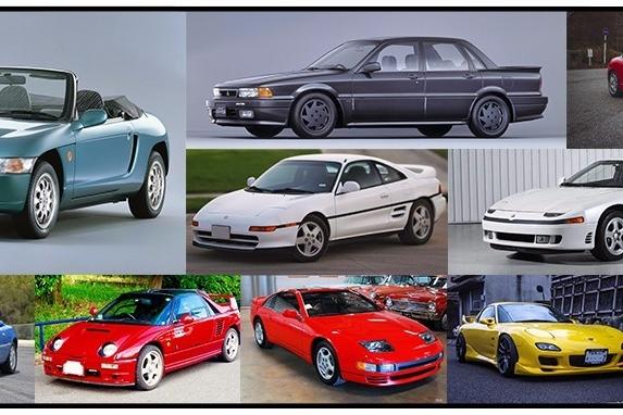 那些年的经典JDM车型,随着平成年号的更换而变成过去式!