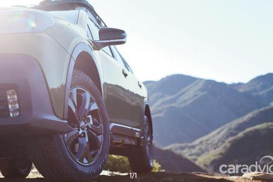 备战纽约车展,2020款斯巴鲁傲虎预告图发布