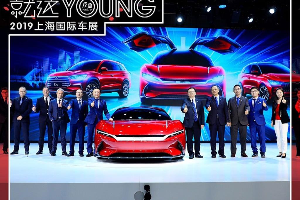 除了宋Pro/e系列,比亚迪上海车展还带来SA2和E-SEED GT