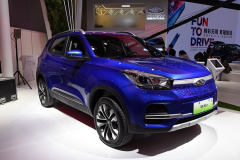 2019上海车展:奇瑞新能源瑞虎e发布 续航超400公里