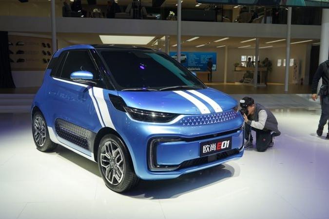 全新纯电动微型车 长安欧尚E01正式亮相