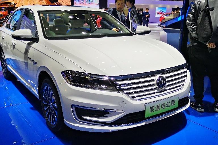 【2019上海车展】上汽大众朗逸纯电版于上海车展发布