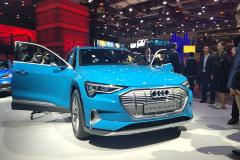 2019上海车展:奥迪e-tron预售70万起 续航达400公里
