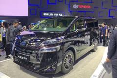 上海车展:丰田威尔法双擎正式上市 售80.5-85.6万元