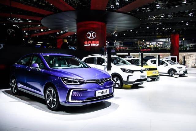 上海车展北汽新能源6款纯电动车齐发,EX3上市引领品牌向上之路