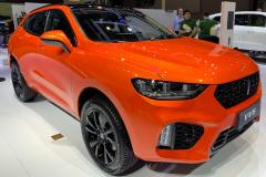 2019上海车展:WEY VV5倾橙版发布 更满足个性化需求