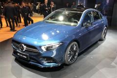 2019上海车展:国产AMG A 35 L发布 性能车新宠