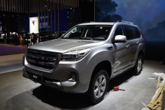 2019上海车展:新款哈弗H9发布 外观小改/配置升级
