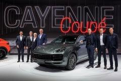 上海车展:保时捷全新Cayenne Coupé与全新 911亮相