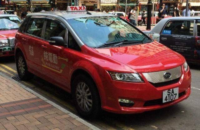 香港将6年前的比亚迪出租车退回!的哥:不是不想开,而是开不成