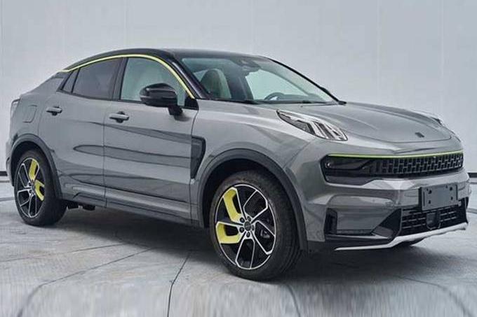 领克再推轿跑SUV 实车曝光2.0T动力 240匹马力 会成为新的网红?