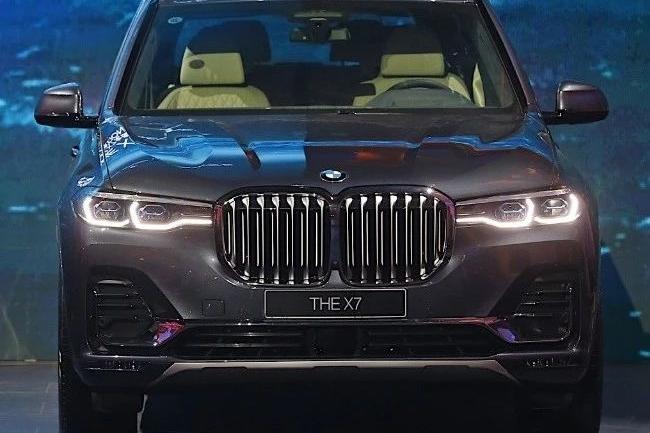 车展看车 | 宝马X7对于豪华感的诠释,完全担当得起旗舰之名
