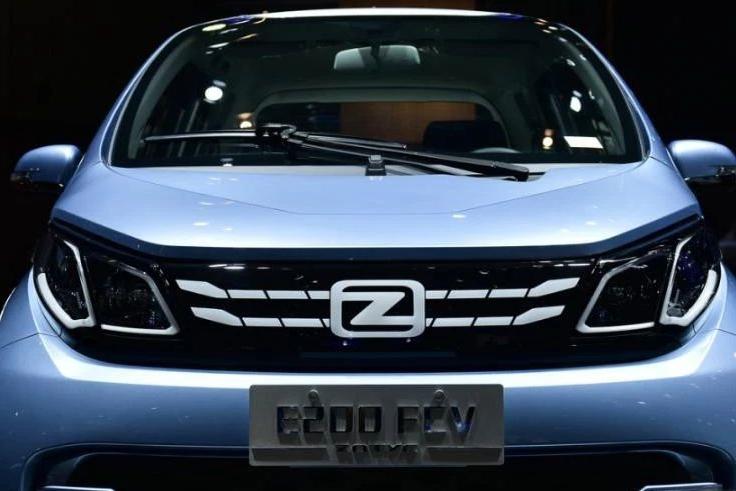 """绿动未来--""""众泰""""上海车展首发E200 FCV燃料电池汽车"""