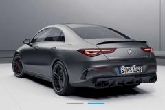 2020款奔驰AMG CLA 45预告图发布 预计年内正式发布