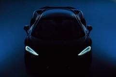 新款迈凯轮GT预告图发布 预计下周正式亮相