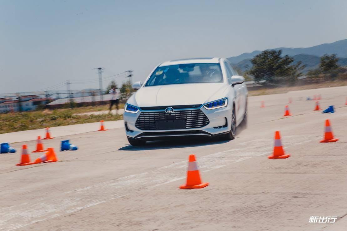 300kg 的减重能带来什么 场地试驾比亚迪秦Pro EV 超能版